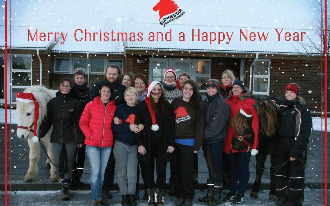 Frohe Weihnachten und ein glückliches zukünftiges Jahr!