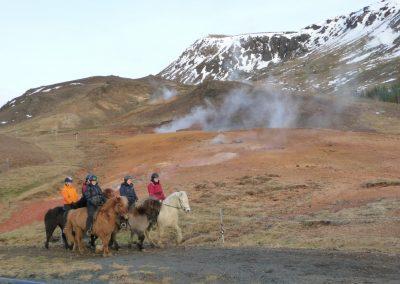 heiße Quellen der Pferde 5