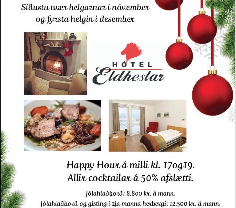 Hotel Eldhestar – Christmas buffet